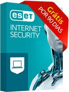 ESET - Antivírus Internet Security - Grátis por 3 meses