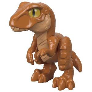 Jurassic World - Filhote Tiranossauro Rex - Marrom - Fisher-Price R$ 15