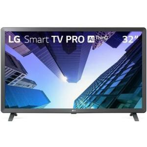 "Smart TV LED 32"" LG, 3 HDMI, 2 USB, Bluetooth 32LM621CBSB.AWZ R$ 825"