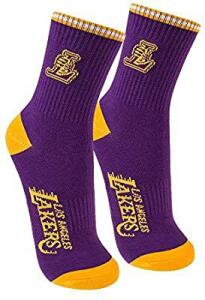 Meia Cano Medio Nba Los Angeles Lakers