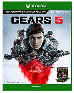 [Prime] Game Gears 5 - Xbox One + Lancer + Chaveiro Lancer   R$ 70