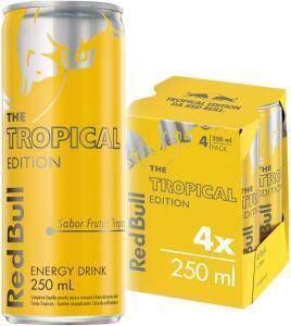 [PRIME] Energético Red Bull Tropical 4 latas | R$ 22