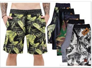 Kit 5 Shorts Bermudas Moletinho Polo Marine | R$ 110