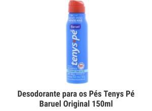 Cupom 25% Desodorante para os pés