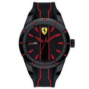 Relógio Scuderia Ferrari Masculino Borracha R$ 395