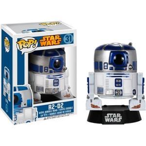 Boneco Funko Pop Star Wars R2-D2 Bobble | R$79