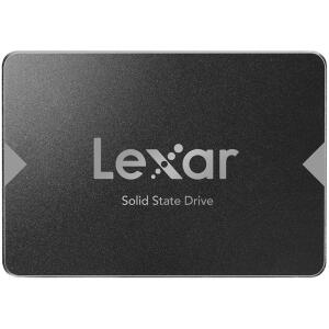 SSD Lexar NS100, 256GB, SATA, Leitura 520MB/s