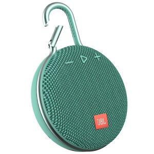 Caixa de Som Bluetooth Clip 3 Teal JBL à Prova d´Água | R$239