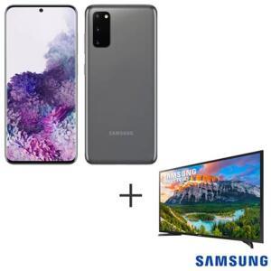 Galaxy S20 Plus + TV 32 Samsung + Relogio Watch Active 2
