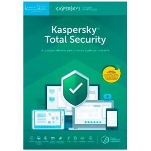 Kaspersky Antivírus Total Security 2019 Multidispositivos 1 PC - Digital para Download