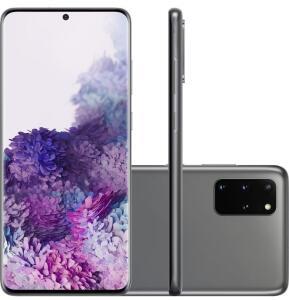 (c/AME R$4400) Smartphone Samsung Galaxy S20+ - Cosmic Gray