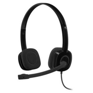 Headset Logitech h151 Estéreo Analógico P3 Preto | R$ 76