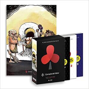 Amazon - Box Geração De Valor (volumes 1, 2 e 3 + Pôster Exclusivo Roda) | R$ 63