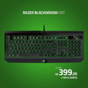 Teclado Razer Ultimate Stealth - R$399