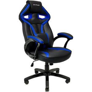[APP + AME R$479,00] Cadeira Gamer Mymax Mx1 Giratória Preta/Azul R$ 532,00