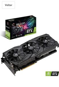 Placa de Video Nvidia Rtx 2060 6Gb | R$2747