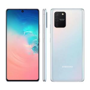 Samsung S10 Lite Branco 128GB, 6GB RAM | R$2499