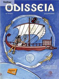 E-book: Odisseia de Homero em quadrinhos (Clássicos em HQ)