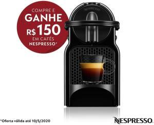 CAFETEIRA INISSIA NESPRESSO + 150 EM CAPSULAS