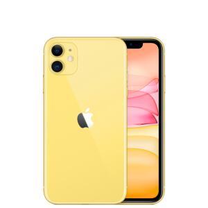 """Apple iPhone 11 Amarelo 64GB com 6.1"""", iOS 13, Processador A13, Duas Câmeras de 12 MP"""
