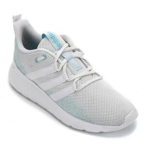Tênis Adidas Grand Court - Branco e Azul (34 a 37) | R$103,99