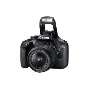 "Câmera Digital Canon EOS Rebel T100 com 18 MP, LCD 3.0"", Full HD, Digic 4+, Wi-Fi - Preta"