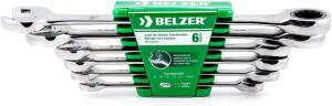 Jogo De Chaves Combinadas Belzer Verde 8-19mm   R$ 141