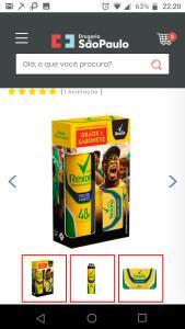 (SP) R$7 (6,56) 3 UNID Kit Desodorante Rexona Men Torcedor Fanático 150ml Grátis Sabonete em Barra 84g
