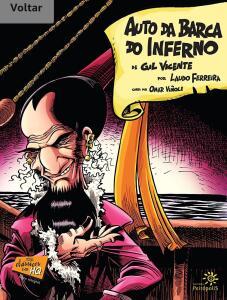 E-book: Auto da barca do inferno em quadrinhos (clássicos em HQ)