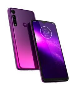 (R$773.70 AME) Motorola Moto one macro ultra violet