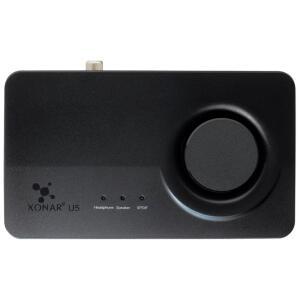 Placa de Som Asus Xonar U5, USB, Canal 5.1 - 90YB00FB-M0UC00 - R$150