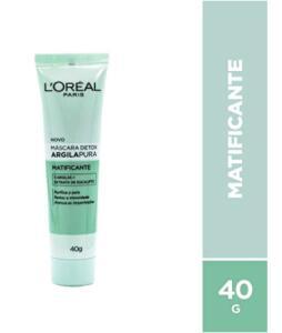 Máscara Matificante de Argila Pura, L'Oréal Paris - R$24