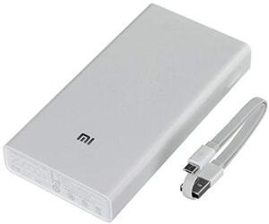 Carregador Portatil, Xiaomi, 20000mah, Branco | R$109