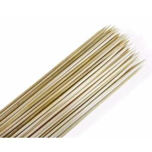 [R$ 0,01] 500 Palito De Bambu Espeto Para Churrasco 30cm