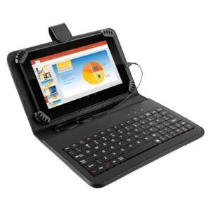 Tablet Multilaser M7 Plus c/ Teclado 3 em 1 Quad Core 7´ Wi-Fi Bluetooth GPS Android 7.0 Preto - NB283