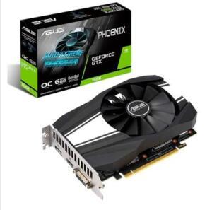 Asus Phoenix NVIDIA GeForce GTX 1660 6GB, GDDR5 - R$1.000