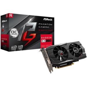 Placa de Video Asrock Phantom Gaming D Radeon RX570 8G OC, GDDR5 | R$750