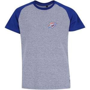 Camiseta NBA Oklahoma City Thunder Raglan Mini Logo - Infantil