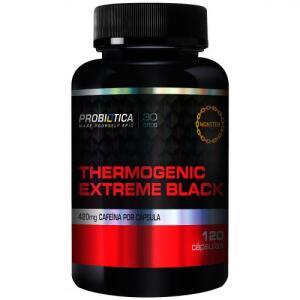 Termogênico Probiótica Extreme Black - 120 Cápsulas