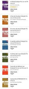 E-books grátis - Coleção para Ler em Pé, Editora Mórula (Autores clássicos brasileiros)