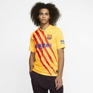 "Camisa Nike Barcelona ""Senyera"" 2019/20 Torcedor Pro Masculina"