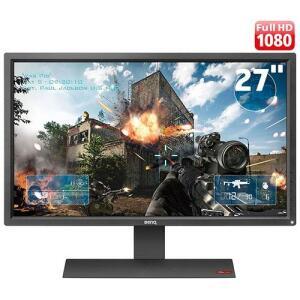 "Monitor Gamer BenQ ZOWIE RL2455S para Console com 24"", 1ms, Lag-free, Black eQualizer Tela Anti-Reflexo - R$870"