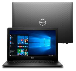 "Notebook Dell Core i7-8565U 8GB 2TB Tela 15.6"" Windows 10 Inspiron I15-3583-A5XP - R$3999"