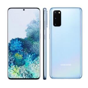 Smartphone Samsung Galaxy S20 Azul 128GB 8GB RAM - R$4399