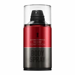 [APP] Perfume Antonio Banderas The Secret Temptation Masculino Body Spray 250ml | R$ 45