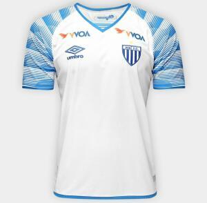 Camisa Avaí II 17/18 s/nº Torcedor Umbro Masculina - Branco e Azu | R$60
