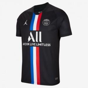 Camisa Jordan x PSG 2019/20 IV Torcedor Pro Masculina