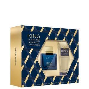[AME R$105] Conjunto King of Seduction Absolute Antonio Banderas Masculino - Eau de Toilette 100ml + Pós-Barba 75ml