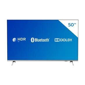 "Smart TV LED 50"" 4K Philips 50PUG6654/78 com HDR, Dolby Vision, Dolby Atmos, Wi-Fi, Quad Core, Bluetooth, Entradas HDMI e USB"