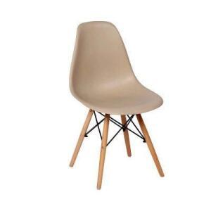 Cadeira Charles Eames Eiffel Dkr Wood - Design